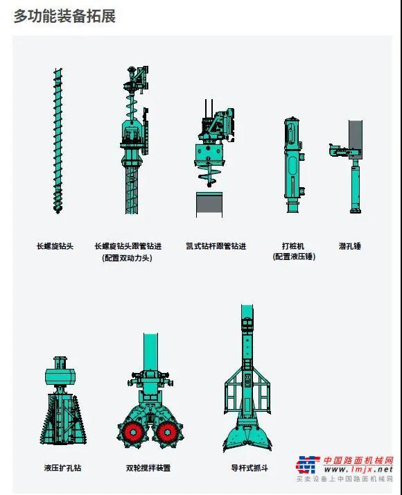 金泰技术诠释旋挖钻机的多功能与标准化