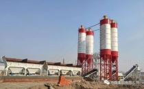 方圆集团稳定土拌和站为京哈高速扩建贡献力量