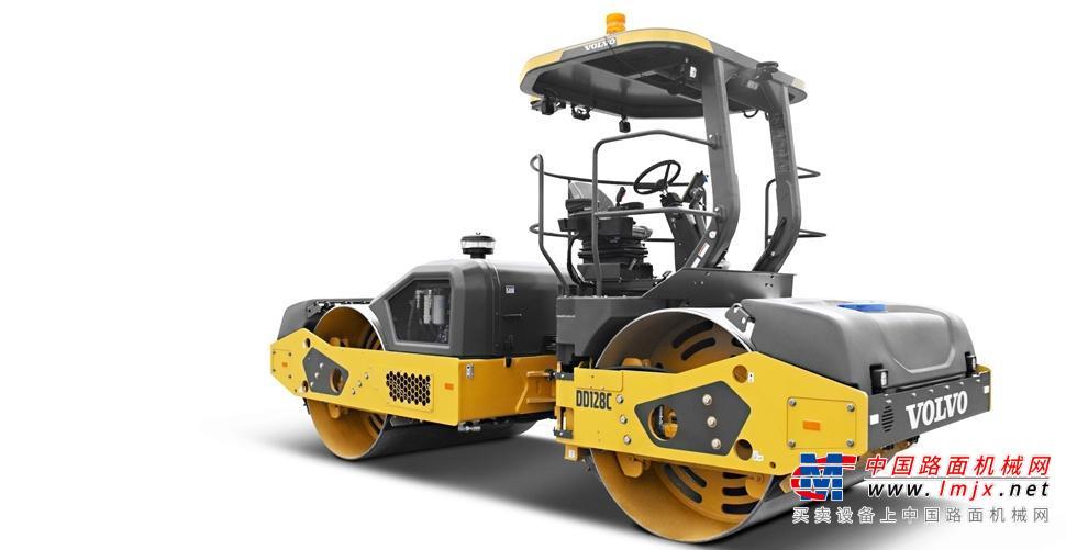 沃尔沃建筑设备公司推出具有行业领先技术的新型压路机