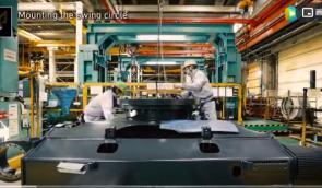 走进日本小松工厂,看挖掘机生产组装全过程