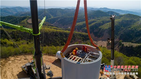 中联重科800吨全地面起重机征战山西 续写风电神器佳话