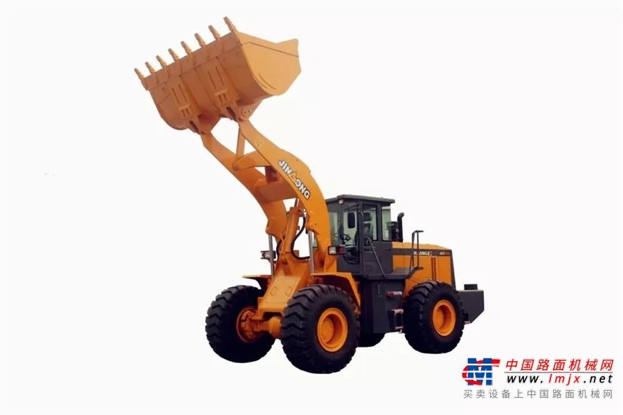 案例 | 奧特集中潤滑系統在晉工JGM756K裝載機上的應用
