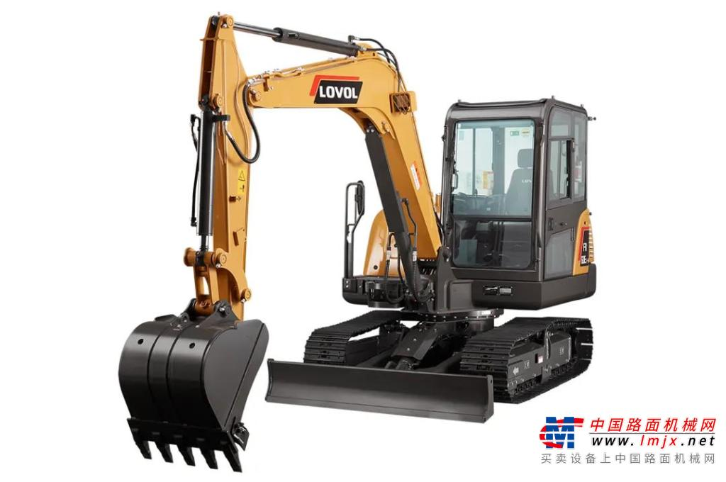 雷沃E2系列挖掘机热销 广受客户好评
