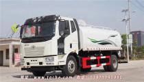 國六解放質享版15噸灑水車