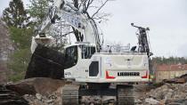 利勃海尔新一代履带式挖掘机得到瑞典市场认可