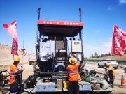 案例分享 | 拓普康3D毫米GPS攤鋪系統在內蒙古路橋高速建設中的成功應用