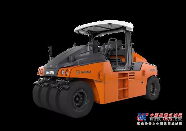 【海外新品】悍马在北美市场推出新型HP 180i轮胎压路机