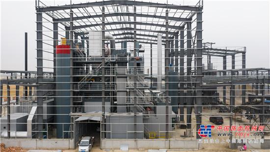 绿色环保高效稳定 无锡环球室内二段式全环保型沥青搅拌站应用于安徽灵璧