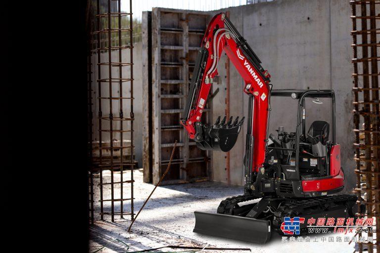 【海外新品】洋马美国公司推出新红色涂装SV40紧凑型挖掘机