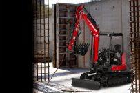 【海外新品】洋馬美國公司推出新紅色涂裝SV40緊湊型挖掘機