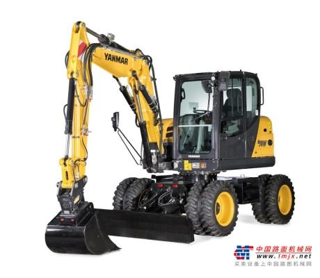 【海外新品】洋马推出B75W-5移动式挖掘机
