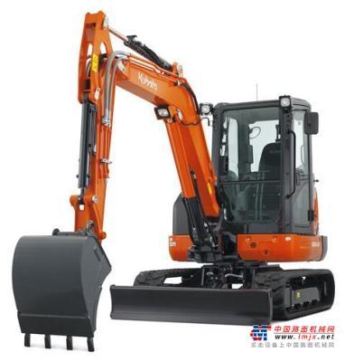 【海外新品】久保田推出KX042-4α小型挖掘机