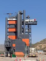 铁拓机械TSE环保型沥青厂拌热再生设备助力甘肃高速维修工程