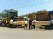 厦工批量设备助力内蒙古美丽新农村建设