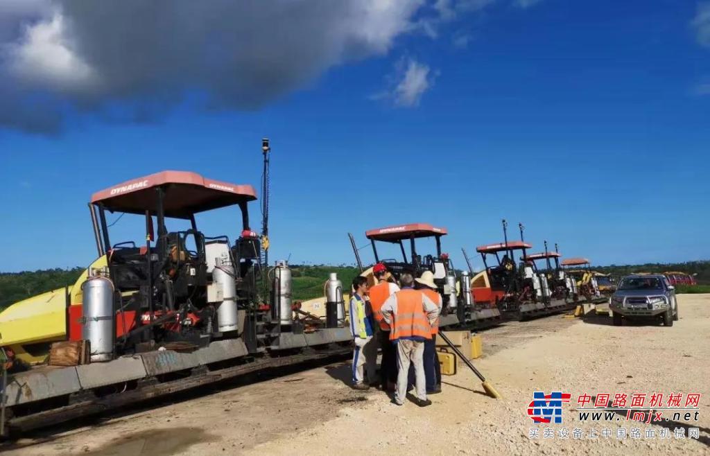 Topcon助力瓦努阿图机场翻修项目