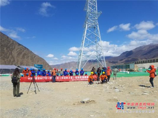 """中联重科客户故事:签下西藏最大吨位起重机,这就是90后吊装""""后浪"""""""