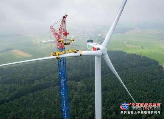 【每周话题】风电抢装潮下  大吨位吊装设备一机难求