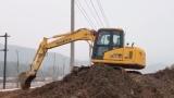 山推挖掘机 75施工视频