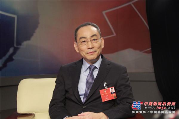 全国政协委员、中联重科董事长詹纯新: 让人工智能赋能工业未来