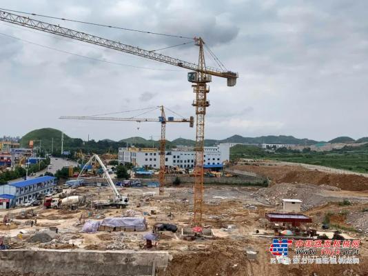 马力全开 贵州开源亚搏直播视频app城二期项目火热建设中