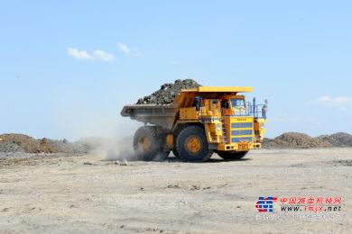 BELAZ将于今年完成全球最大的全电池矿用卡车7558E的研制