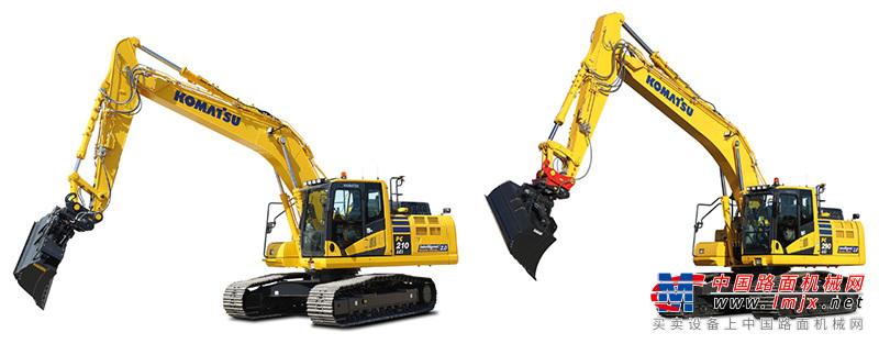 【海外新品】小松欧洲公司推出PC210LCi-11、PC290LCi / NLCi-11挖掘机