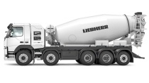 利勃海尔首台全电动混凝土搅拌车计划在今秋投入运营