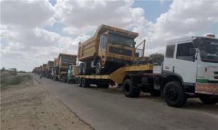 临工矿车驰骋塔尔煤田 中国制造名扬巴基斯坦
