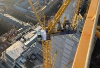 波坦MR295塔式起重机助力建造伯明翰最高办公楼