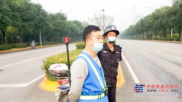 中交西筑安全月保安全 制造一支部在行动