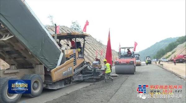 延黄高速公路项目:加快施工进度确保年底建成通车