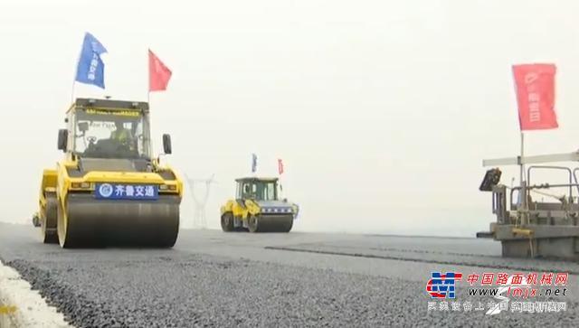 逆势上扬!上半年山东交通设施建设投资破千亿