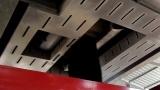 鑫海路机燃烧沥青烟吸收效果视频2