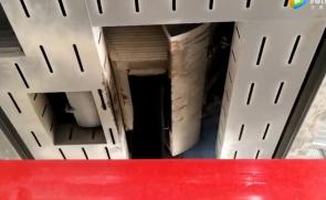 鑫海路机二次燃烧沥青烟气吸收效果视频1
