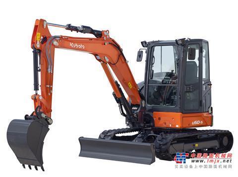 【海外新品】久保田推出新款U50-5小型挖掘机