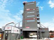 精心筑精品,西筑5000型搅拌站参建长益高速改扩容项目
