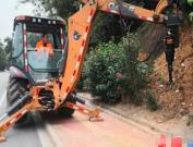 广州市道路养护中心东城养护所改造设备提升机械化养护效能