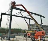 捷尔杰天津二期工厂建设进展超预期,高空作业平台显神通