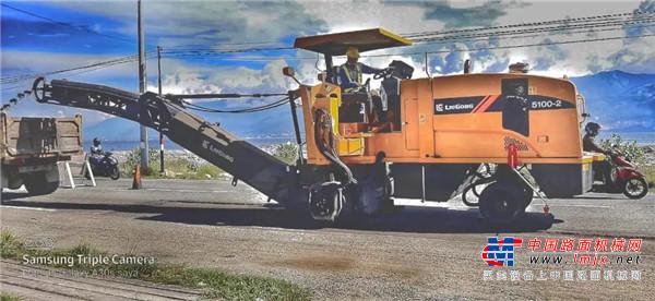 柳工铣刨机出征海外市场 落地亚太区域开花结果