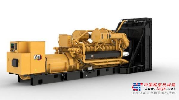 卡特彼勒推出天然气发电机组生产线