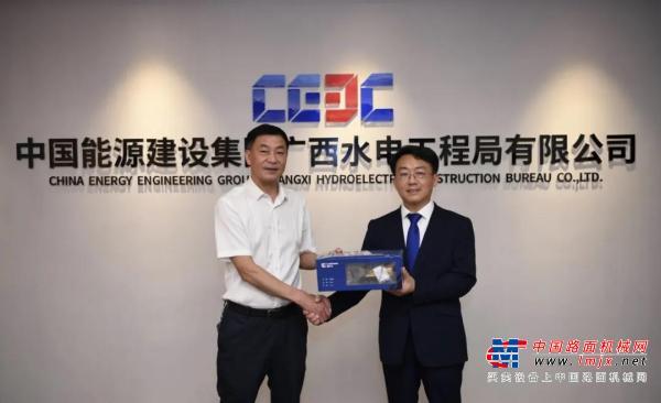 抱团出海 携手共赢   柳工与中国能建广西局签战略合作协议