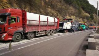 维特根工地报告   二级公路快速维修—W 380 CR同样得心应手