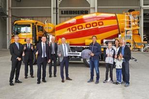利勃海尔售出第10万台搅拌机HTM 905
