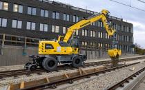 【海外新品】利勃海尔即将推出A 922铁路挖掘机