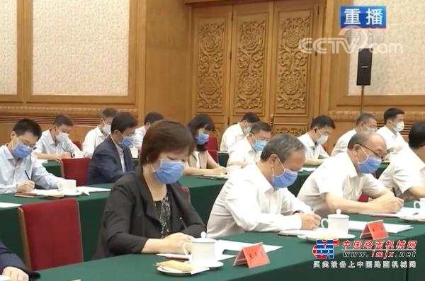 习近平总书记主持召开企业家座谈会,徐工王民应邀出席