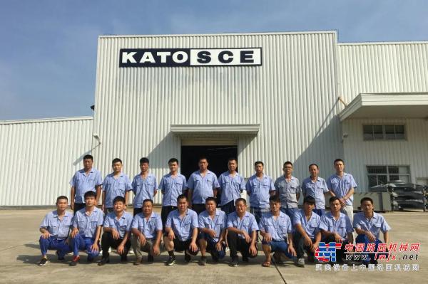 加藤中骏2020首场(液压+空调)中级培训顺利举行