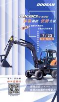 斗山:DX60W ECO 直播首秀丨实景看机+专业解读!