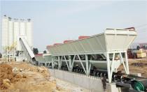 方圆HZS120型箱式搅拌站服役济高高速公路建设