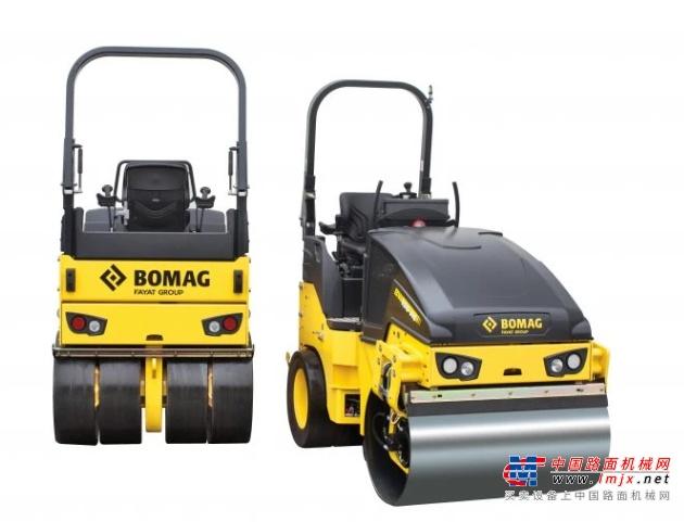 【海外新品】宝马格推出BW 120 SLC-5组合式滚筒轮胎压路机
