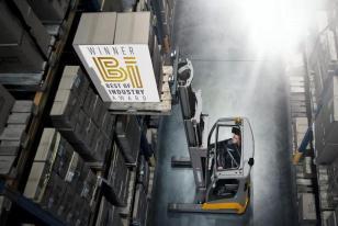 德国永恒力锂电池前移式叉车ETV 216i 荣获最佳工业奖!
